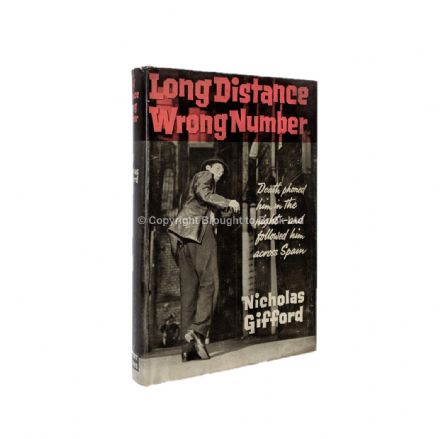 Long Distance Number by Nicholas Gifford First Edition Herbert Jenkins 1962